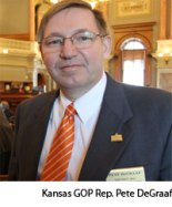 "Rep Pete ""Puppy Crusher"" DeGraaf of Kansas"