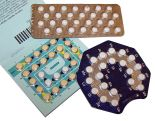 packages of birth control